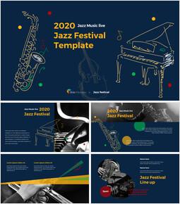 Jazz Festival Theme PT Templates_00