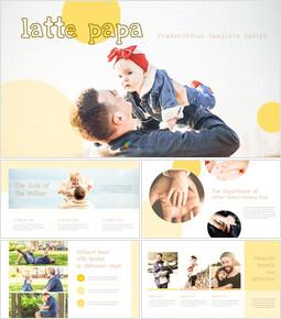 라떼 파파 PPT 비즈니스_40 slides