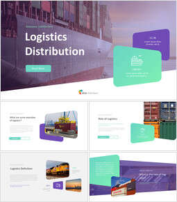 Logistics Distribution PPT Presentation_00