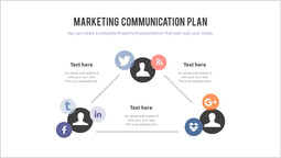 Piano di comunicazione di marketing Modello di pagina_2 slides