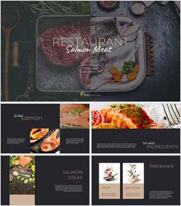 Meat & Salmon Restaurant Google Presentation Slides_00