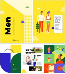 Men Illustration Vertical Design Simple Google Slides Templates_00