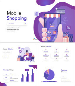 Mobile Shopping Service Ultimate Keynote Template_00