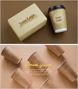 Mockup PowerPoint Templates (Café Coffee, Take-Out Cup)_00