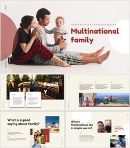 Multicultural Family Google Slides_40 slides