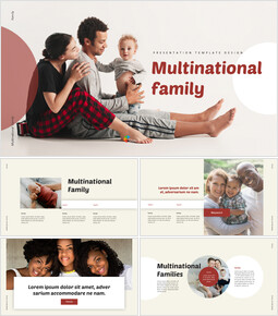 Multicultural Family Professional PPT_00