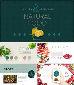 Natural food Google PowerPoint Slides_00