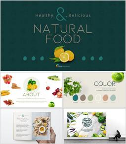 자연 식품 인터랙티브 PPT_00