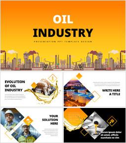 석유 산업 베스트 프레젠테이션 디자인_00