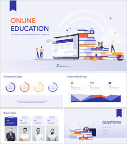Online Education Pitch deck Design Ultimate Keynote Template_00