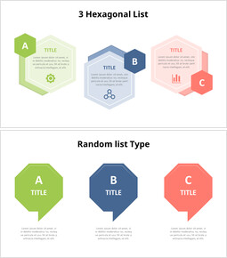 Polygon Infographic List Diagram_00