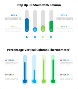 Rounded Column Animation Chart_10 slides