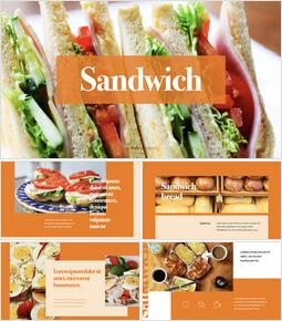 Sandwich Simple Keynote Template_40 slides