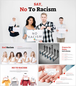 Say No to Racism Google Slides Templates_00
