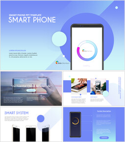 Smart Phone Modelli PowerPoint_41 slides