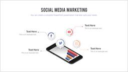 Social media marketing Diapositiva PPT_2 slides