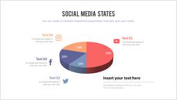Stati dei social media Mazzo semplice_2 slides