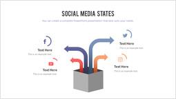 Stati dei social media Pagina del modello_2 slides