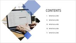 Contenuto quadrato diapositiva_2 slides