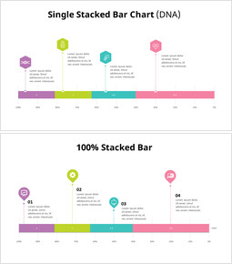 Stacked Bar Chart with Icons_18 slides