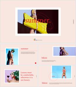 Summer Lookbook Simple Google Slides_00