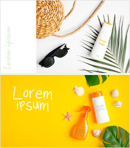 Sunscreen, Cosmetics Mockup slides_00