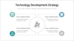 Technology development Strategy Template_2 slides