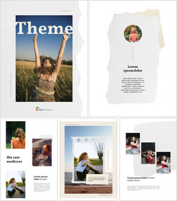 Theme Vertical Presentation Simple Google Templates_00