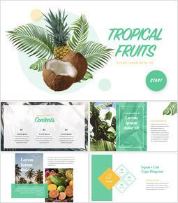 Tropical Fruits iMac Keynote_00