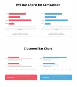 Two Comparison Column Chart_20 slides