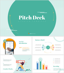 Unique Pitch Deck Design Google PowerPoint Slides_00