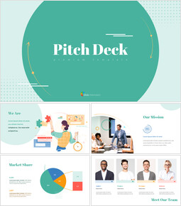 Pitch Deck Design unico Modelli di PowerPoint Design_00