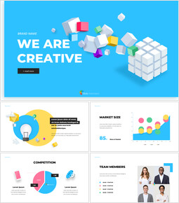 We are Creative Pitch Deck Design Easy Presentation Template_00