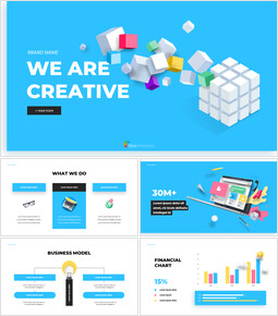 We are Creative Pitch Deck Design Simple Google Slides Templates_00