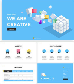 We are Creative Pitch Deck Design Ultimate Keynote Template_00