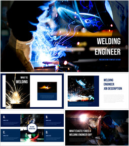Welding Engineer PowerPoint Table of Contents_40 slides