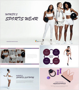 Women\'s Sports Wear Keynote Design_00