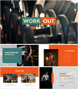 Work Out Presentation PowerPoint Templates Design_00