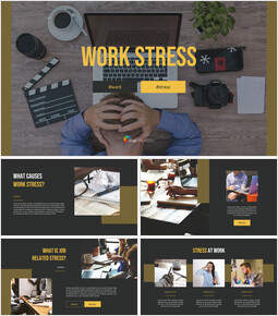 Work Stress Simple Templates Design_00