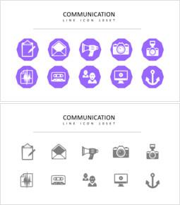 10 communication Vector Images_3 slides