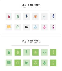 12 Eco Friendly Icons Vectors_3 slides