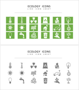 18 Ökologie Vektorsymbole eingestellt_00