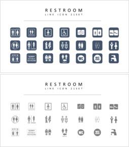 21 Toilette Vektorbilder_00