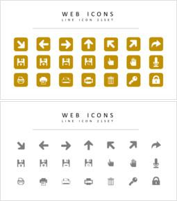 21 Web Icons Set Vector_00