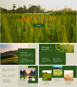 Agriculture elegant ppt templates_00