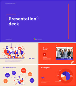 Animated Templates - Presentation Deck Design powerpoint animation_13 slides
