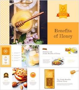 꿀의 장점 편집이 쉬운 구글 슬라이드 템플릿_00