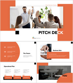 Best Project Presentation company profile template design_00