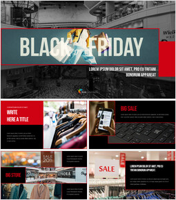 Black Friday company profile ppt template_00