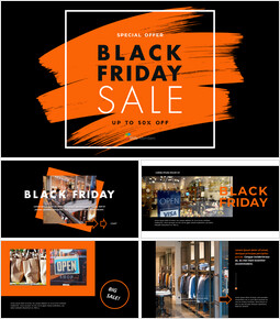 Venerdì nero Design di PowerPoint gratuito_40 slides
